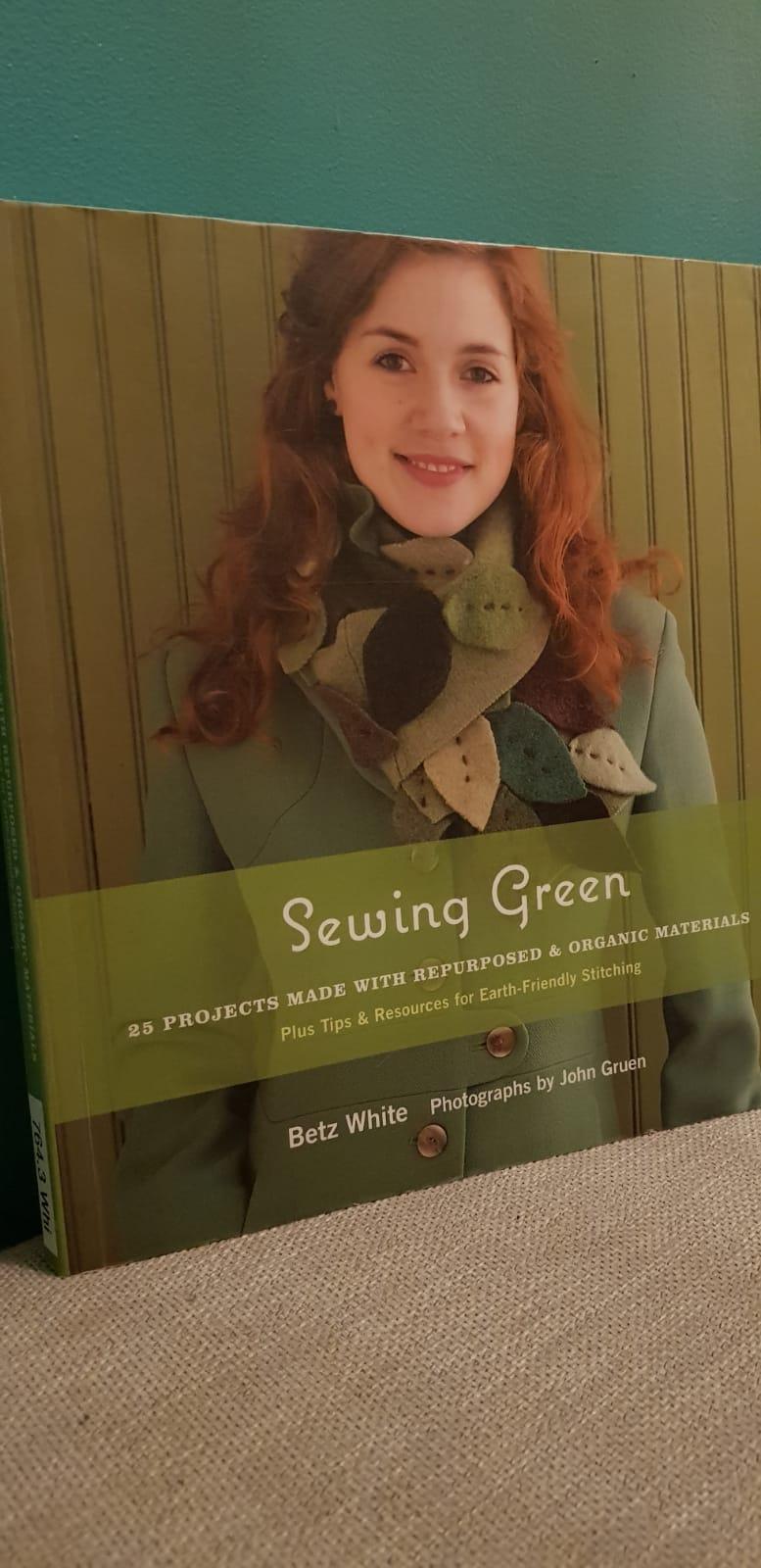 vanhasta uutta sewing green